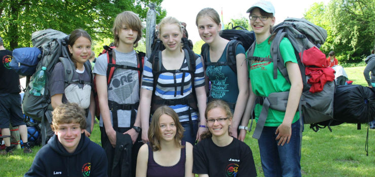 Kanu-Expedition im Sommer 2014