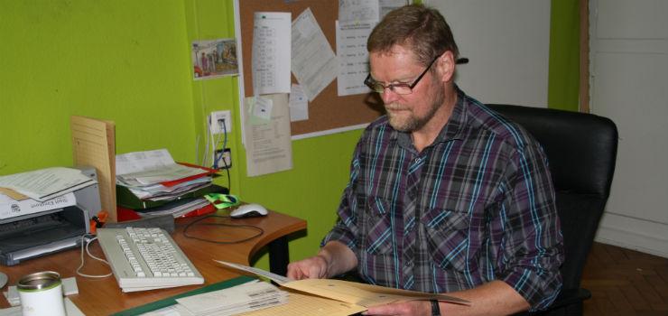 Hausmeister Peter Lichte