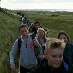 Schüler am Meer