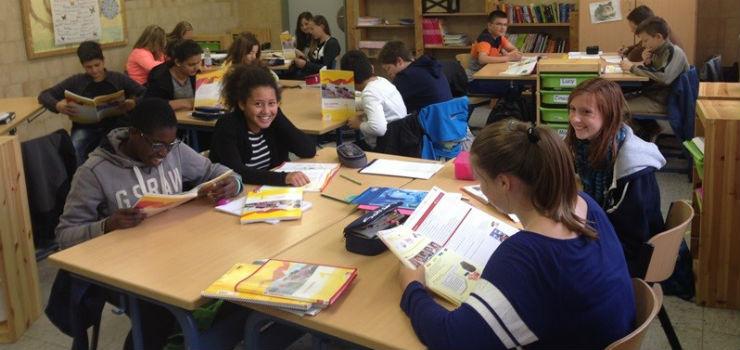Schüler im WPU Französisch