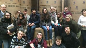 Flex-Klasse besucht A.Beig-Verlag in Pinneberg