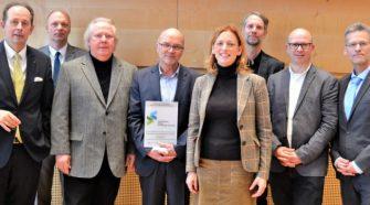 BCSG erhält Berufswahlsiegel im Landeshaus in Kiel
